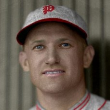 "George Knothe - 1932 Philadelphia Phillies - 4""x6"" colorized print"
