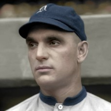 "George Moriarty - 1914 Detroit Tigers - 4""x6"" colorized print"