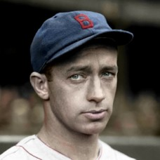 "Gordie Hinkle - 1934 Boston Red Sox - 4""x6"" colorized print"