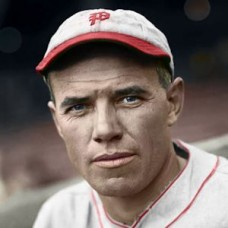 "Harry McCurdy - 1932 Philadelphia Phillies - 4""x6"" colorized print"