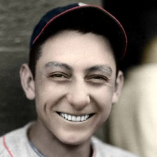 "Joe Coscarart - 1935 Boston Braves - 4""x6"" colorized print"