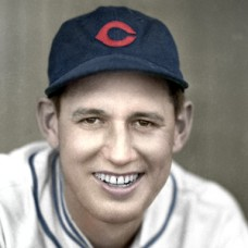 "Johnny Gill - c. 1935-36 Chicago Cubs - 4""x6"" colorized print"