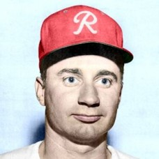 "Lou Kretlow - 1955 Seattle Rainiers 4""x6"" colorized print"