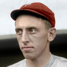 "Beals Becker - c. 1913-14 Philadelphia Phillies 4""x6"" colorized print"
