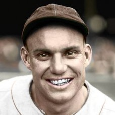 "Bobby LaMotte - 1925 St. Louis Browns 4""x6"" colorized print"