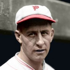 "Chet Nichols - 1930 Philadelphia Phillies 4""x6"" colorized print"