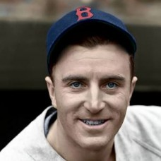"Denny Galehouse - 1939 Boston Red Sox 4""x6"" colorized print"