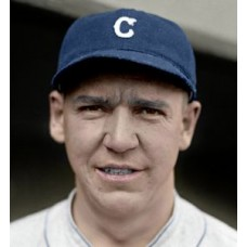 "Dewey Metivier - 1924 Cleveland Indians 4""x6"" colorized print"