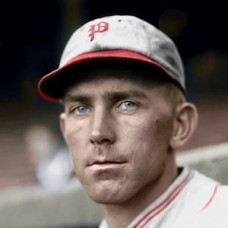 "Dick Bartell - 1932 Philadelphia Phillies 4""x6"" colorized print"