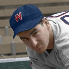 "Dick Lanahan - 1937 Washington Senators 4""x6"" colorized print"