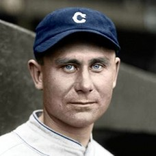 "Dutch Levsen - 1927 Cleveland Indians 4""x6"" colorized print"