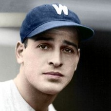 "Henry Coppola - 1935 Washington Senators 4""x6"" colorized print"