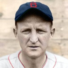 "Herb Pennock - 1934 Boston Red Sox 4""x6"" colorized print"