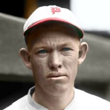 "Huck Betts - 1925 Philadelphia Phillies 4""x6"" colorized print"