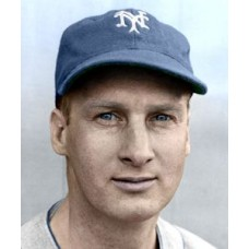 "Hy Vandenberg - 1939 New York Giants 4""x6"" colorized print"