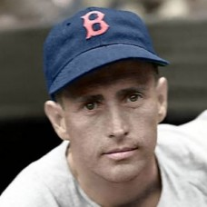 "Jake Wade - 1939 Boston Red Sox 4""x6"" colorized print"