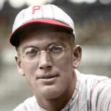 "Lee Meadows - 1923 Philadelphia Phillies 4""x6"" colorized print"