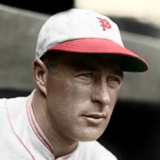 "Lefty O'Doul - c. 1929-30 Philadelphia Phillies 4""x6"" colorized print"