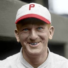 "Lew Wendell - 1924 Philadelphia Phillies 4""x6"" colorized print"