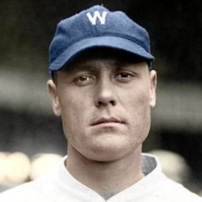 "Slim McGrew - 1924 Washington Senators 4""x6"" colorized print"