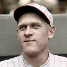 "Walter Holke - 1923 Philadelphia Phillies 4""x6"" colorized print"