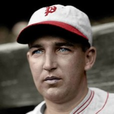 "Alex Ferguson - 1927 Philadelphia Phillies 4""x6"" colorized print"