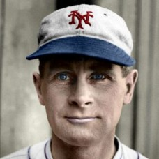 "Bill Morrell - c. 1930-31 New York Giants 4""x6"" colorized print"