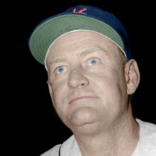 "Bob Elliott - 1960 Kansas City Athletics 4""x6"" colorized print"