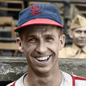 "Bob Keely - c. 1944-45 St. Louis Cardinals 4""x6"" colorized print"