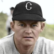"Bud Stewart - 1951 Chicago White Sox 4""x6"" colorized print"