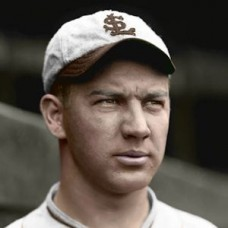 "Ed Strelecki - 1928 St. Louis Browns 4""x6"" colorized print"