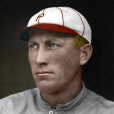 "Fred Luderus - c. 1915-20 Philadelphia Phillies 4""x6"" colorized print"