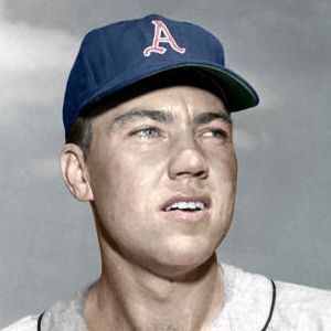 "Glenn Cox - 1958 Kansas City Athletics 4""x6"" colorized print"