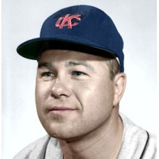 "Hank Foiles - 1960 Kansas City Athletics 4""x6"" colorized print"