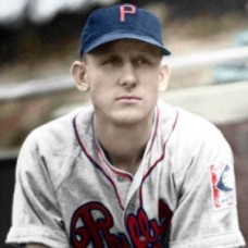 "Jack Bolling - 1939 Philadelphia Phillies 4""x6"" colorized print"