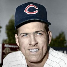 "Jake Striker - 1959 Cleveland Indians 4""x6"" colorized print"