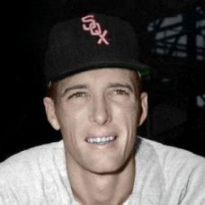 "Jim Busby - 1952 Chicago White Sox 4""x6"" colorized print"