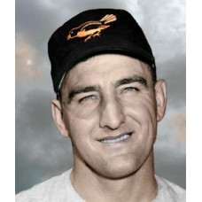 "Jim Fridley - 1954 Baltimore Orioles 4""x6"" colorized print"