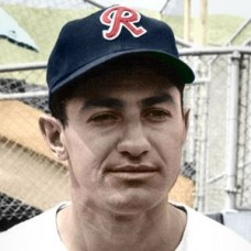 "Lou Skizas - c. 1959-60 Seattle Rainiers 4""x6"" colorized print"