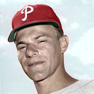 "Paul Stuffel - c. 1950-53 Philadelphia Phillies 4""x6"" colorized print"