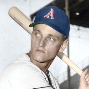 "Roger Maris - c. 1958-59 Kansas City Athletics 4""x6"" colorized print"
