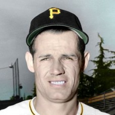 "Ted Beard - c. 1948-52 Pittsburgh Pirates 4""x6"" colorized print"