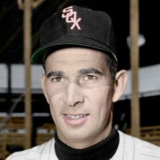 "Tommy Byrne - 1953 Chicago White Sox 4""x6"" colorized print"