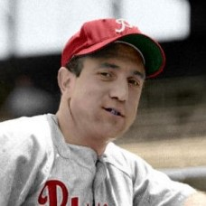 "Tommy Glaviano - 1953 Philadelphia Phillies 4""x6"" colorized print"