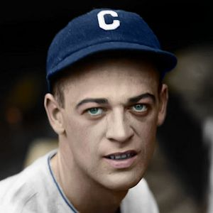 "Walt Huntzinger - 1926 Chicago Cubs 4""x6"" colorized print"