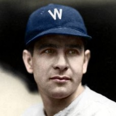 "Wes Kingdon - 1932 Washington Senators 4""x6"" colorized print"