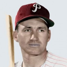 "Alvin Dark - 1960 Philadelphia Phillies 4""x6"" colorized print"