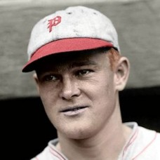 "Bill Deitrick - 1928 Philadelphia Phillies 4""x6"" colorized print"