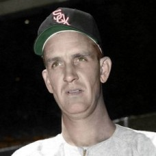 "Bill Kennedy - 1952 Chicago White Sox 4""x6"" colorized print"