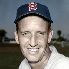 "Bill Kennedy - 1953 Boston Red Sox 4""x6"" colorized print"